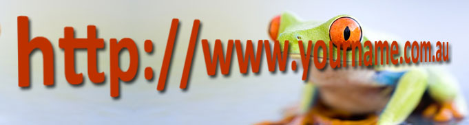get your own domain name\